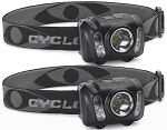 CYCLOPS 210 LUMEN HEADLAMP 2 PK