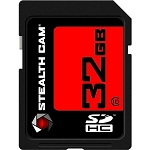 STEALTH CAM 32GB SD MEMORY CARD SINGLE PACK