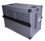 Owens Tactical K-9 Transporter Collapsible Crate - Gray