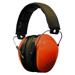 WALKERS DUAL COLOR PASSIVE MUFF EMBOSSED HEADBAND - BLAZE ORANGE