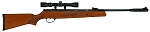 HATSAN USA AIR RIFLE MODEL 95 SPRING COMBO .25 CALIBER