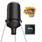 AMERICAN HUNTER 225 LB. TRIPOD FEEDER W/DIGITAL RD-KIT PRO AND VARMINT BUSTER