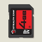 STEALTH CAM 4GB SD MEMORY CARD SINGLE PACK