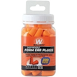 WALKERS FOAM EAR PLUGS - 50 PAIR JAR