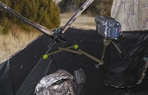 GROUND BLIND CAMERA HOLDER