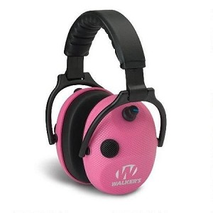 WALKERS ALPHA PINK CARBON ELECTRONIC EAR MUFFS