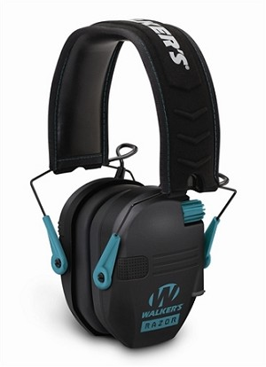 WALKERS RAZOR SERIES - SLIM SHOOTER FOLDING MUFF - TEAL