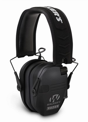 WALKERS RAZOR SERIES - SLIM SHOOTER FOLDING MUFF - BLACK