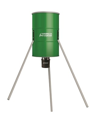 AMERICAN HUNTER 350 LB. TRIPOD FEEDER W/R-KIT PRO AND VARMINT BUSTER