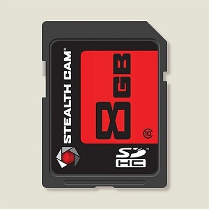 STEALTH CAM 8GB SD MEMORY CARD SINGLE PACK