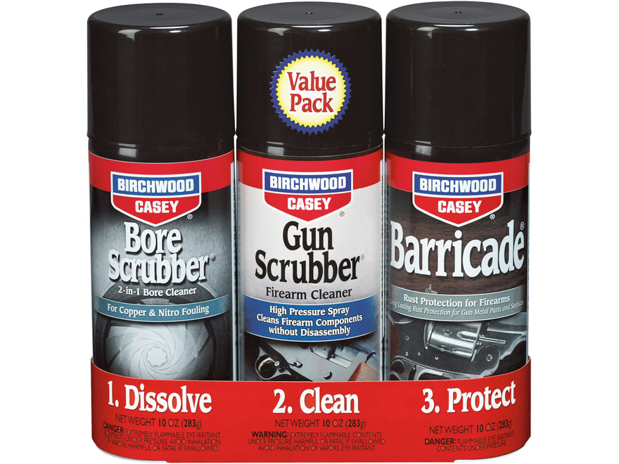 FIREARM CLEANING & MAINTENANCE PRODUCTS