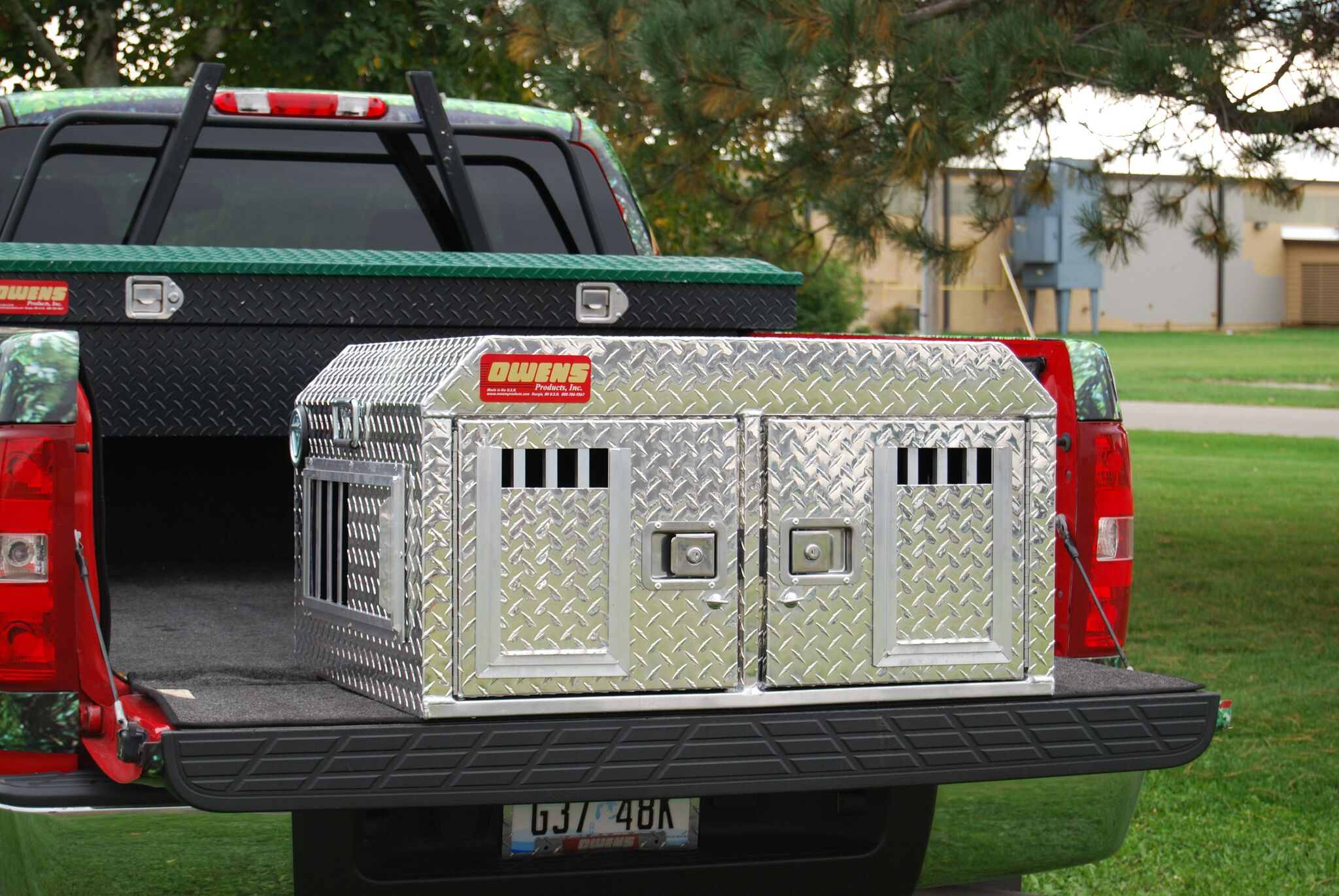 Hunter Series Dual-Compartment ATV Dog Box without Top Storage