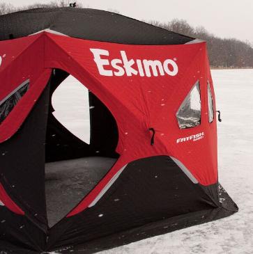 ESKIMO FATFISH 6-SIDED SHELTER - INSULATED