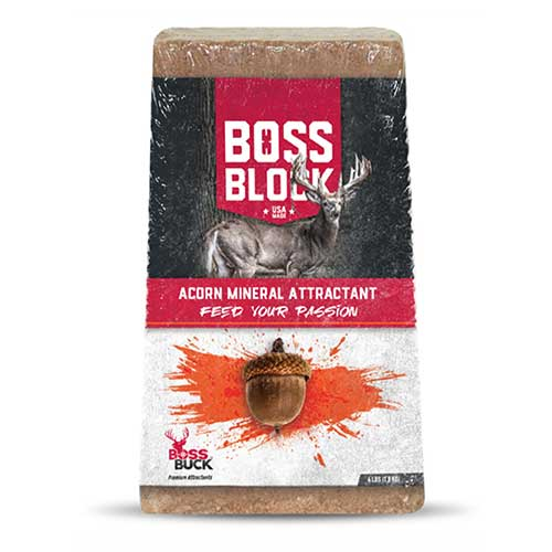 Boss Block Mineral Attractant 4lbs