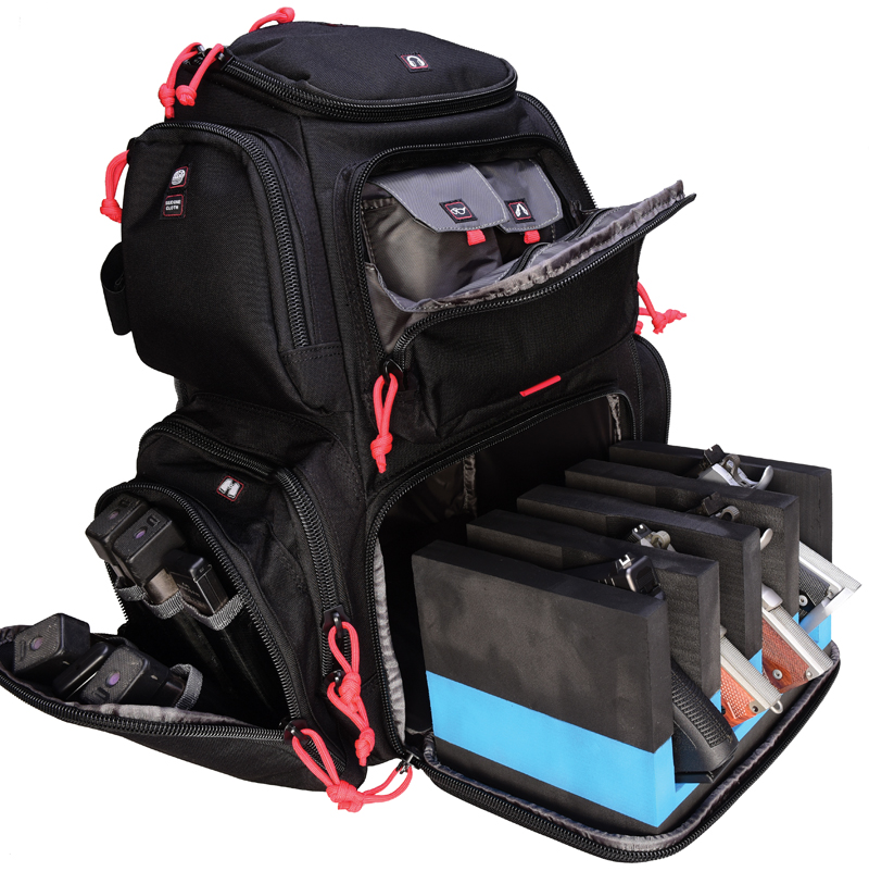 GPS HandGunner Range Backpack