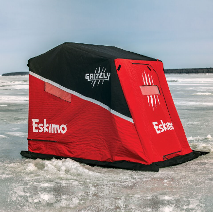 ESKIMO GRIZZLY ICE SHELTER