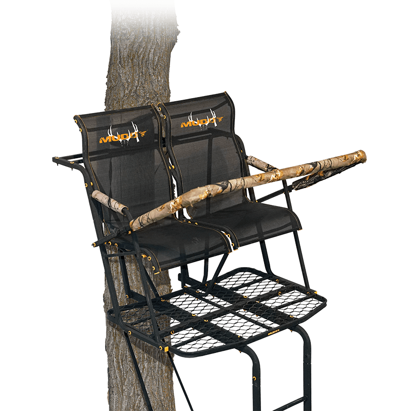 MUDDY OUTDOORS THE REBEL 2.5 2-HUNTER LADDERSTAND