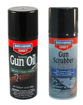 Gun Scrubber® 10oz & Synthetic Gun Oil 10oz Aerosol Value Pack