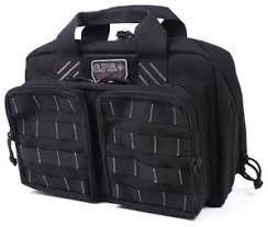Tactical Quad + 2 Pistol Range Bag