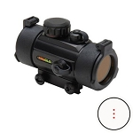 TRUGLO 30mm Crossbow Red Dot Scope 3 Dot Black