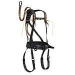 MUDDY Safeguard Harness, Lineman's Rope, Tree Strap, Suspension Relief Strap, Carabiner -  BLACK