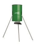 AMERICAN HUNTER 350 LB CAPACITY TRIPOD FEEDER WITH BUILT-IN SOLAR CHARGER