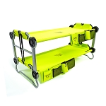 KID-O-BUNK with Organizers - Lime Green