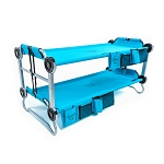 KID-O-BUNK with Organizers - Teal Blue