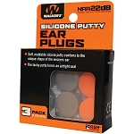 WALKERS SILICON PLUGS - ORANGE AND FLAT DARK EARTH