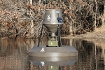 BOSS BUCK 80 lb. FLOATING FISH FEEDER