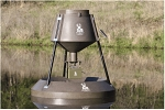 BOSS BUCK 160 lb. FLOATING FISH FEEDER