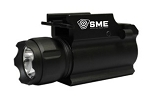 SME Rail Mounted Pistol Weapon Light - 250 Lumens