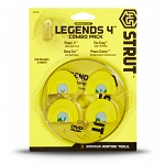 Hunter Specialties H.S. Strut Legends 4 Diaphragm Turkey Call Combo Pack