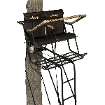 MUDDY OUTDOORS THE STRONGHOLD 2.5 XTL 2-HUNTER LADDERSTAND