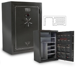 Sports Afield Haven Series Gun Safes- 48 + 8 Gun With Electronic Lock