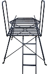 DOWN-N-OUT SCOUT TOWER STAND PLATFORM