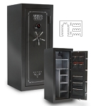 Sports Afield Haven Series Gun Safes- 24 + 4 Gun With Electric Lock