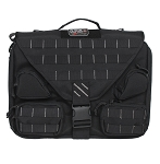 GPS Tactical Brief Case w/Handgun Holster - Black