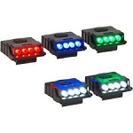 CYCLOPS ULTIMATE Mini LED Hat Clip Light 5 PK - 2 White, 1 ea. Red, Blue & Green Combo