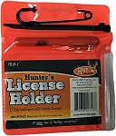 HME Hunter's License Holder with Pen & Zip Ties