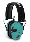 WALKERS RAZOR SERIES -  SLIM SHOOTER FOLDING ELECTRONIC MUFF - LIGHT TEAL