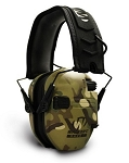 WALKERS RAZOR SERIES -  SLIM SHOOTER FOLDING ELECTRONIC MUFF -  MULTI-CAMO - TAN