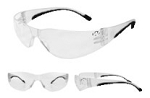 Walker's Youth/Women's Clear Lens Shooting Glasses