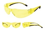 Walker's Youth/Women's Yellow Lens Shooting Glasses