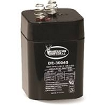 AMERICAN HUNTER 6V 5 AMP HR LANTERN RECHARGEABLE BATTERY / SPRING TOP