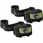 CYCLOPS 210 Lumen Headlamp - 2pk