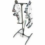 HARD SURFACE ARCHERY PRACTICE BOW HANGER