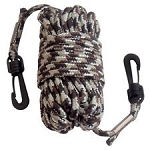 HOIST ROPE WITH HOOKS (25 FT)