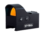 Styrka S3 Series Red Dot - Open Sights