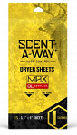 Scent-A-Way Odorless Dryer Sheets